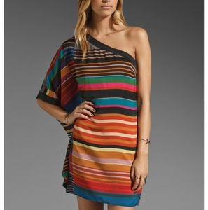Trina Turk Apres Stripe Wonderland Cocktail Dress
